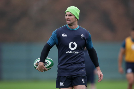 Will we see Kearney back in the Ireland team this week?