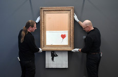 Banksy artwork that self-destructed is going on display in German museum