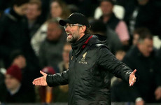 Jurgen Klopp points to injury problems as lacklustre Liverpool slip-up again