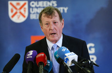 David Trimble is planning to take Theresa May's government to court over the backstop