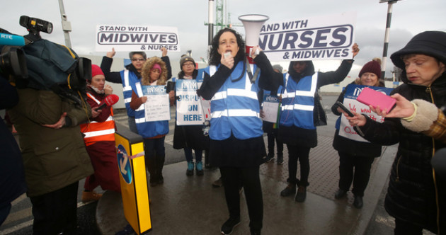 'We're just run off our feet': Nearly 40,000 nurses and midwives begin second day of strike action