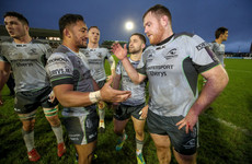 Connacht confirm departure of Carey to English side Worcester