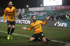 Stunning strike from Carlow's Pádraig Amond inspires FA Cup giantkilling