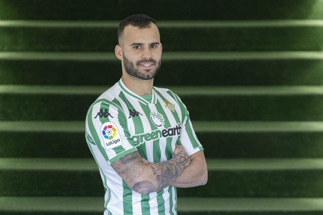 Jese Rodriguez after joining Real Betis
