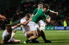 Try-scorer Foley the sole change for Ireland U20 after England win