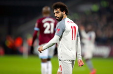 West Ham launch investigation into alleged racist abuse of Liverpool's Salah