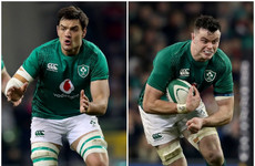 Ryan pairs up with Roux as Ireland look for 'variation' around ball-carriers