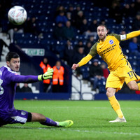 Murray double sees Brighton overcome West Brom to reach FA Cup fifth round