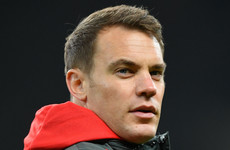 Injured Neuer remains on sidelines as Liverpool tie looms