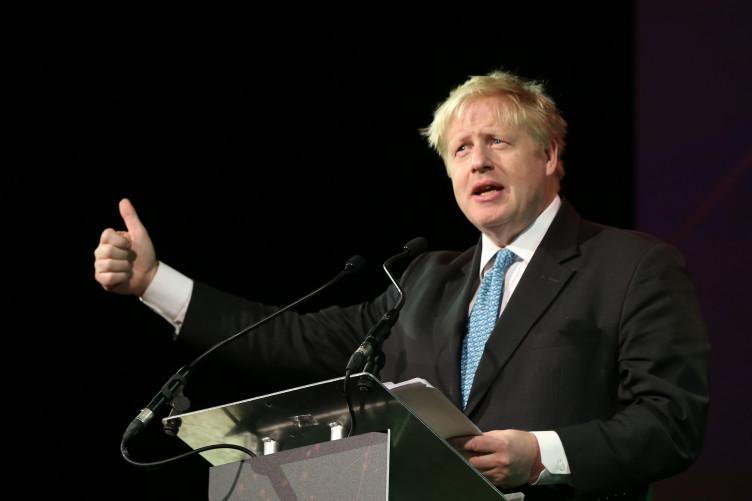 Boris Johnson speaking at the Pendulum Summit