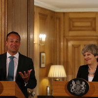 Crunch talks for Varadkar and May in Dublin today as both sides refuse to back down on backstop