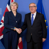 May given official notice EU won't re-open withdrawal deal in 'robust' talks