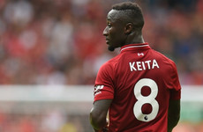 'You expect more from Keita and that is the difference with Liverpool'