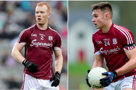 Declan Kyne and Cillian McDaid are huge losses for Kevin Walsh's side.