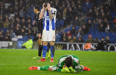 Duffy on target but Burnley extend Brighton's winless run