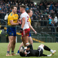 Tyrone battle back from seven down against Roscommon to pick up first league point