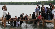 In photos: Pier collapses under teenagers before school prom