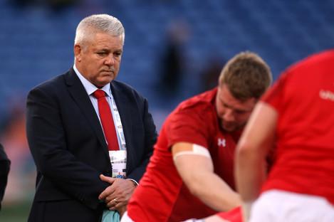 Wales head coach, Warren Gatland.