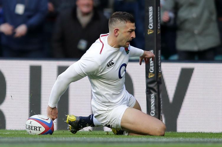 England's Jonny May.