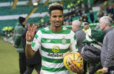 Scott Sinclair scores hat-trick as Celtic maintain push for third treble in a row