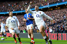 'We definitely played some good rugby at times': Hat-trick hero May delighted as England hammer France