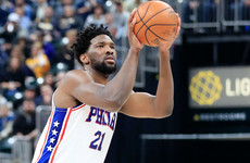 Joel Embiid and the 76ers send message in win over LeBron's Lakers
