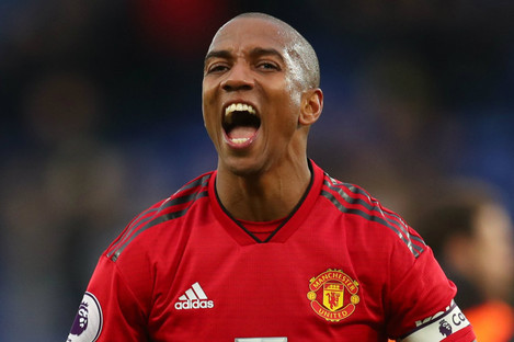 Ashley Young of Manchester United.