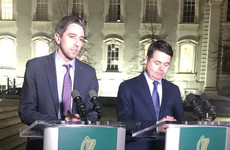 Harris says protest outside his family home was 'plain and simple intimidation'