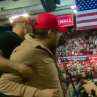 Trump v Beto: BBC cameraman attacked as President and Democrat hold competing rallies