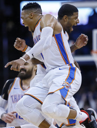 Russell Westbrook broke a 51-year-old Wilt Chamberlain record last night
