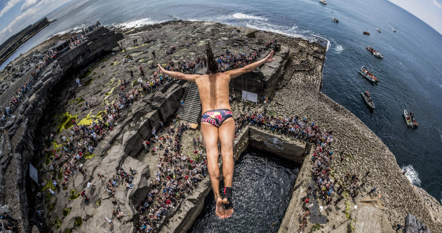 Cliff Diving World Series coming to Dublin for the first time this year