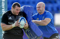 Hogan's contact skills pushing Leinster players forward while avoiding injury