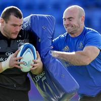 Hogan's contact skills pushing Leinster players forward while avoiding injury