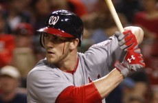 Rookie MLB star needs 10 stitches after hitting self in face