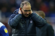 Late West Brom penalty means O'Neill's Forest lose ground in promotion race
