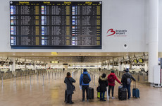 No flights to or from Belgium due to strike; some Dublin flights cancelled