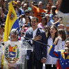 Venezuela's Guaido vows to bring in food next week, says Maduro 'will have no choice but to leave'