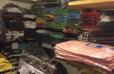 Gardaí seize €500,000 worth of counterfeit Adidas, Hugo Boss and Calvin Klein clothing
