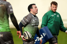 International cap remains the goal for Connacht stalwart Buckley