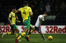 Maguire goal helps Preston to victory over promotion hopefuls Norwich as Leeds reclaim top spot