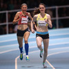 Ciara Mageean sets new indoor record on way to 1500m win