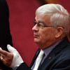 Australian police probe parliament brawl involving 70 year-old senator who left blood on rival's door