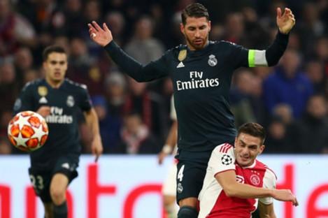 Madrid won in Amsterdam last night.