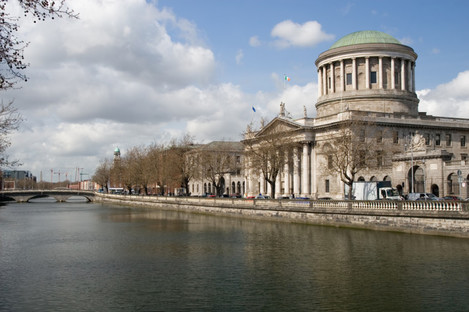 File photo of the Four Courts, Dublin city.