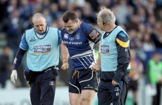 Relief: Healy and D'Arcy expected to be fit for Twickenham