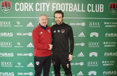 Cork City add young English striker on loan from Rochdale