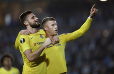 Barkley and Giroud on target as Chelsea earn 2-1 win over Malmo