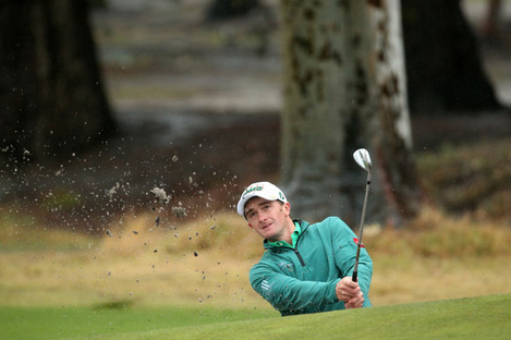 Ireland's Paul Dunne enjoyed his second round at the World Super 6 Perth.
