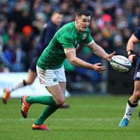 Sexton 'ready to go' for Ireland, with Henshaw expected back in training next week