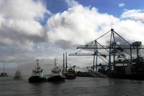 File photo of Dublin Port.
